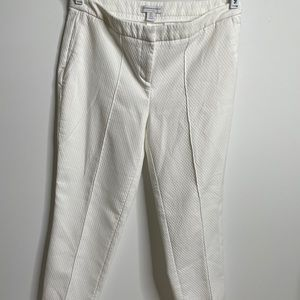 Katherine Barclay Montreal dress pants US6 6 white